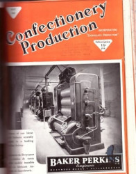 Confectionery Production 1947
